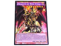 Dragun of Red-Eyes YUGIOH orica SECRET RARE proxy