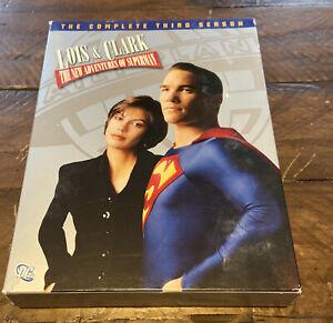 Lois & Clark: The New Adventures of Superman - Season 3 DVD Set - Used
