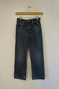 Ted Baker Boys Blue Straight Cut 100% Cotton Jeans (UK Size - Age 10)