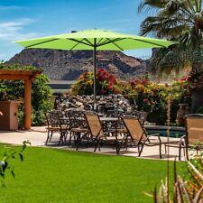 New listing 13ft Patio Umbrella 8 Ribs Large Outdoor Parasol Backyard Pool Sun Shade Uv 30+