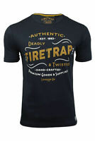 Firetrap Mens T-Shirt 'Towson' Short Sleeved