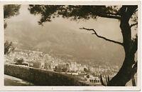 MONACO MONTE CARLO Gesamt-Ansicht 1910 selt. ungebr. s/w RP AK TOP-Erhaltung