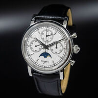 Seagull Sugess ST1908 Chronograph Watch Genuine Moon Phase ST19 Venus 175 1963