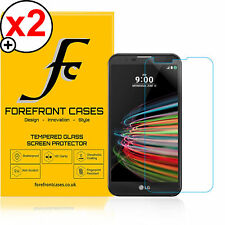 2 X 9H HD Tempered Glass Screen Protector Shield for LG X Mach