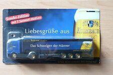 MODEL TRUCK BEER LORRY BEER TRUCK MERCEDES BENZ ACTROS Kulmbacher HS 16
