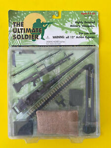 THE ULTIMATE SOLDIER 1:6 SCALE WEAPONS U.S. MILITARY MACHINE GUNS (VIETNAM) MIB