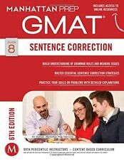 GMAT Sentence Correction (Manhattan Prep GMAT Strategy Guid... by Manhattan Prep