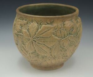 WELLER POTTERY ARTS AND CRAFTS MARVO JARDINIERE CACHEPOT ANTIQUE
