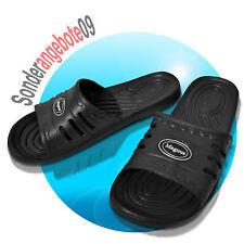 EVA Badelatschen Magnus Badeschuhe Gr. 40 41 42 43 44 45 Strand Schuhe schwarz