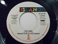 Frankie Goes To Hollywood Two Tribes 45 1984 Island Promo Vinyl Record