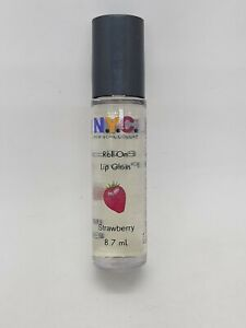 NEW NYC New York Color Roll-On Lip Gloss 601C Strawberry Fraise Flavor Rare HTF