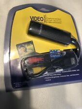 USB 2.0 Audio TV Video VHS to PC DVD VCR Converter Easy Capture Card Adapter