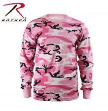 Long Sleeve T Shirt Camo Tactical Military Hunting Rothco Tee Camouflage NEW