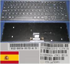 Teclado Qwerty Español SONY VAIO VPC-EB V111678A 550102M36-203-G 148793061 Negro