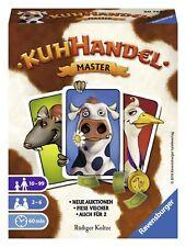 Ravensburger 20752 - Kuhhandel, Master, Kartenspiel Neue Auktionen - Fiese Viech