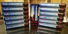 NEW Ingles sin Barreras Lexicon VHS CD 1-12 Diccionario Set Completo Maestro