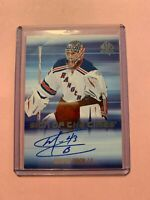 A1017 - 2015-16 SP Authentic Sign of the Times #SOTTMB Martin Biron Auto