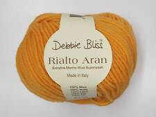 DEBBIE BLISS RIALTO ARAN YARN - VARIOUS SHADES - 50g HANKS