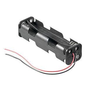 _ Batteriehalter mit Anschlusskabel 8x AA / 8x Mignon, Batteriefach WT11741