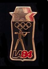 Shooting Olympic Pin Badge ~ Los Angeles ~ 1984 ~ LA 84