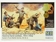 LOT 12677 | Master Box MB35152 Soviet Marines + German Inf. 1:35 Bausatz NEU OVP