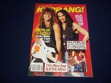 1990 JANUARY 6 KERRANG! MAGAZINE - BON JOVI & DAN REED - MUSIC ISSUE - A 1754