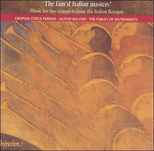 NEW Fam'd Italian Masters: Baroque Music 2 Trumpets (Audio CD)