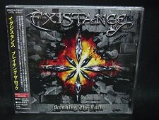 EXISTANCE Breaking The Rock + 3 JAPAN CD Kozoria French Melodic Heavy Metal !