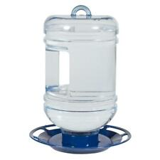 Perky Pet Seed Feeder Bird Waterer 48 Oz Water Cooler Bottle Hanging Plastic New