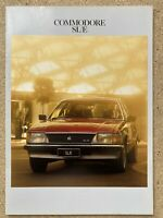 1982 Holden Commodore SL/E original Australian sales brochure (scuffs)