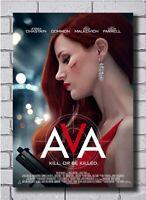 B-301 Ava Movie 2020 Kill Or be killed Poster 20x30 27x40 Art Print