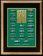 "2014 Hess Mini Toy Truck Limited Edition Collector's Poster: Large 24""x18"" Color"