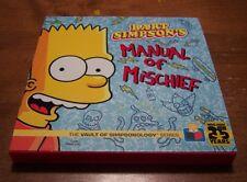 The Vault of SimpsonologyTM: Bart Simpson's Manual of Mischief by Matt Groening