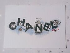 CHANEL VIP GIFT postcard rare and collectible