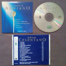 CD Adriano Celentano Il Concerto Di Adriano Sorrisi E Canzoni no lp mc dvd(IT1)