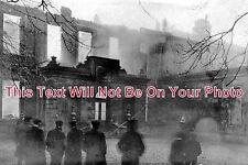 LI 41 - The Fire, Uffington House, Lincolnshire c1904 - 6x4 Photo