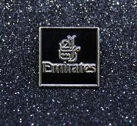 Pin EMIRATES AIRLINES BLACK/GOLD logo metal pin for pilot crew ground staff
