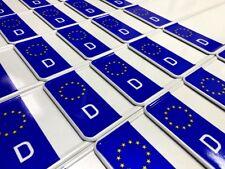 2 Stück EU Kfz Kennzeichen Autoschilder Nummernschilder DIN Zertifiziert