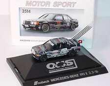 1:87 Mercedes-Benz 190E 2.3-16 W201 DTM 1989 Snob corner No.12 Cudini herpa 3514