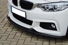 Front Bumper spoiler Splitter Msport Valance Tuning Sport ABS M tech 4 F 32 33