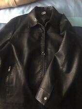 mens black jacket xxl