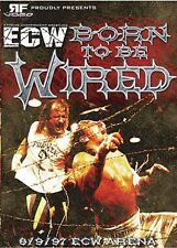ECW Wrestling: Born to be Wired DVD, Sabu Terry Funk Barbed Wire Match WWE WCW