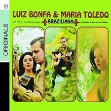 """LUIZ BONFA & MARIA TOLEDO """"BRAZILIANA"""" CD NEU"""
