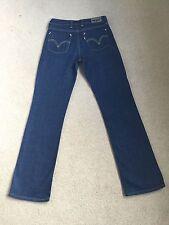 Jean femme levis 627 coupe droite stretch pour femme W28 L32 fab condition (331)
