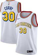 Golden State Warriors Stephen Curry #30 Nike Hardwood Classic Swingman Jersey