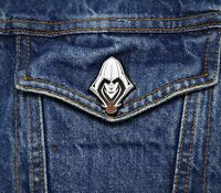 Assassins Creed Collector Pin - Assassin Silhouette Insignia - Origins Odyssey