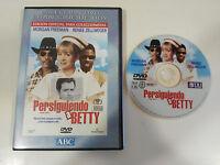 PERSIGUIENDO A BETTY DVD + EXTRAS RENE ZELLWEGER MORGAN FREEMAN ESPAÑOL ENGLISH