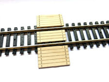 LASER CUT REAL WOOD RAILWAY BARROW CROSSING FOR N SCALE MODEL RAILWAY LX185-N