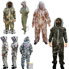 Beekeeping Beekeepers Bee Suit Animal Handling Pest Control Fence Veil FREE Case