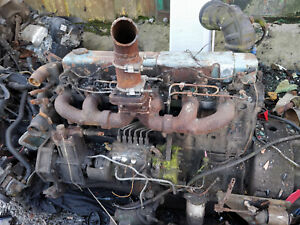 Bedford 500 diesel engine removed from a crane with 4wd gearbox classic export